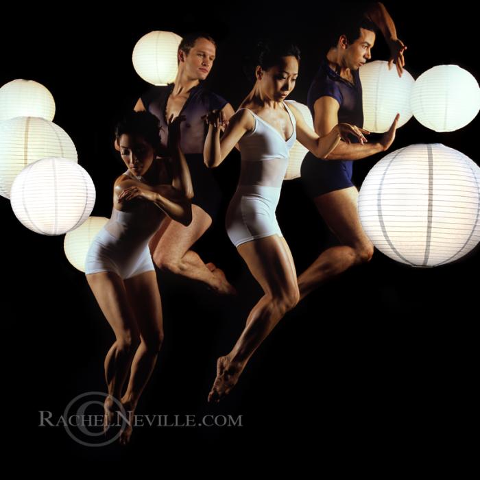 3D Modern Dance Janusphere Dance Company Rachel Neville Photography