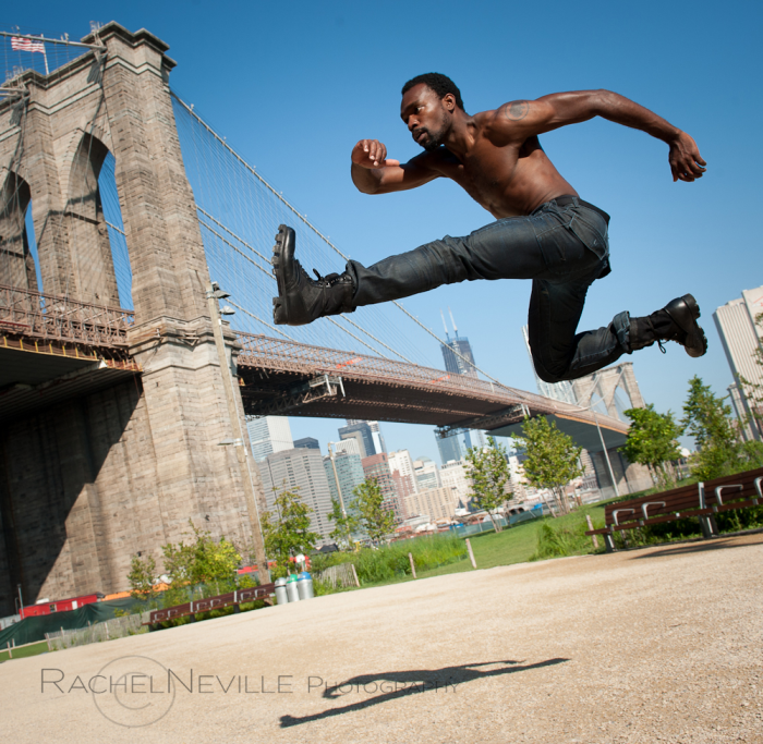 Andre Zachery Brooklyn Bridge Photo Rachel Neville