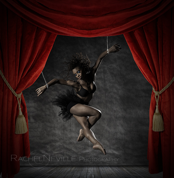 choreographer Alia Kache Photo by Rachel Neville Photography