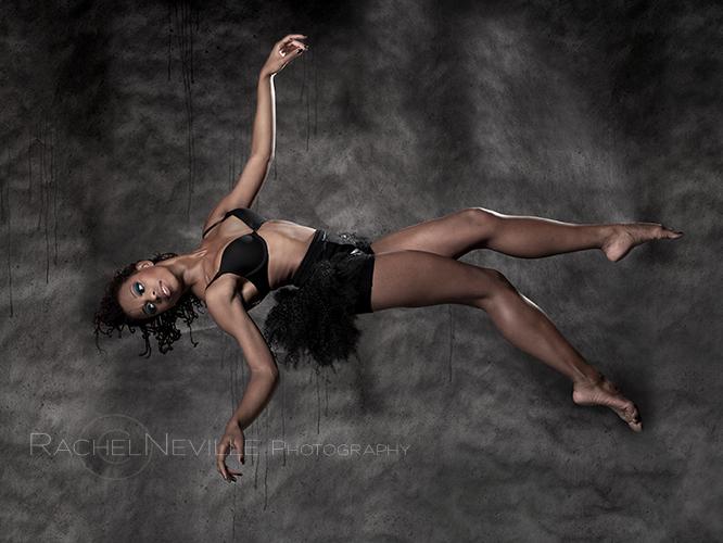barefoot dancer Alia Kache by Rachel Neville