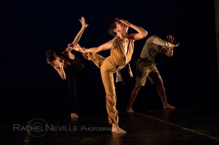 three women dancing contemporary dance live performance photography rachel neville photo