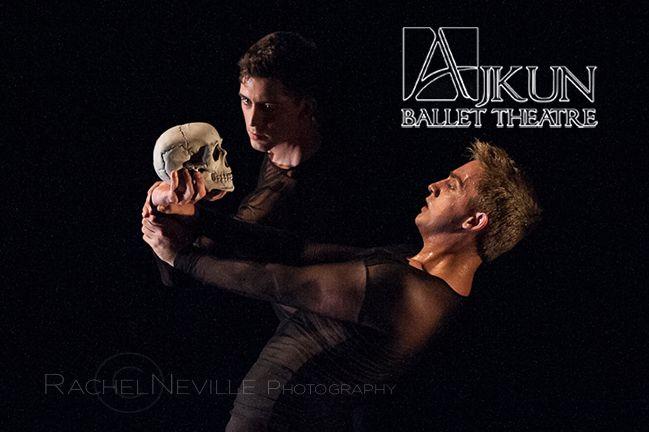 hamlet skull ballet performance photography by rachel neville