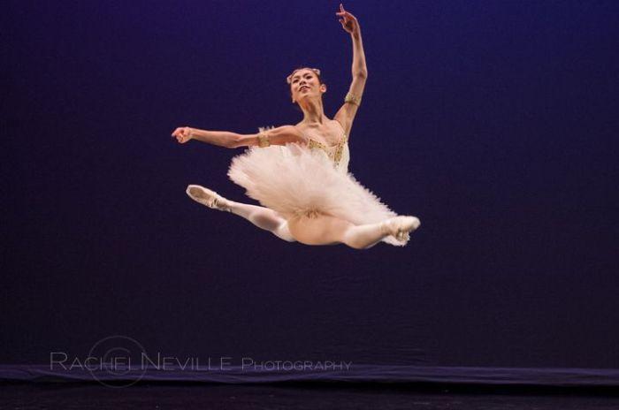 classical ballet jete live performance photography rachel neville