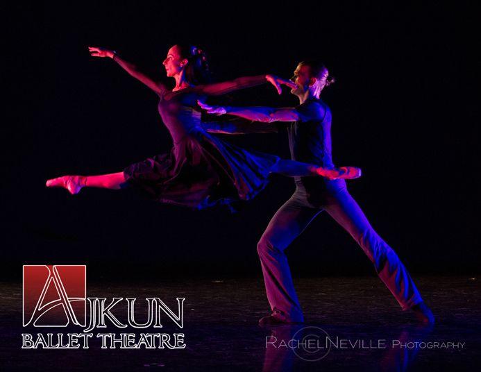 jete pas de deux live dance performance rachel neville photo