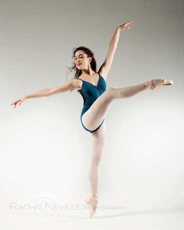 nyc dance photographer rachel neville ballet audition photos navy leotard