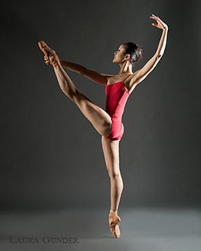 Red leotard tips for strong dance photos Rachel Neville Photogarphy
