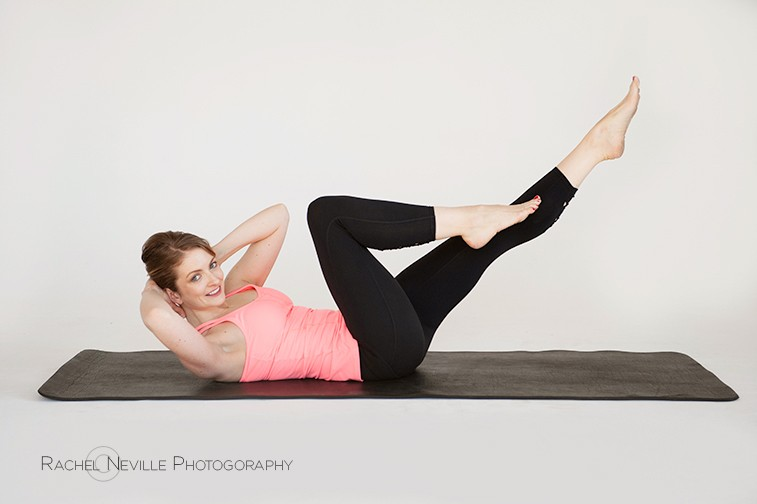Rachel Neville studio photography pilates