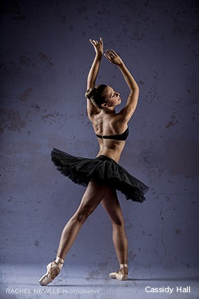 NYC dance photographer studio photo blends classic and modern