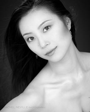 dance photographer Rachel Neville dance photo headshots Japanese dancer in America