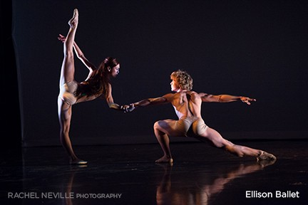 New York City dance photographer Rachel Neville performance photography for Ellison Ballet