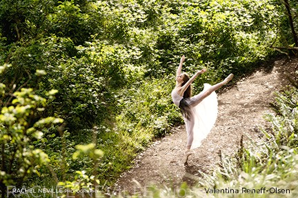 outdoor dance photos forest in NYC dance photographer Rachel Neville