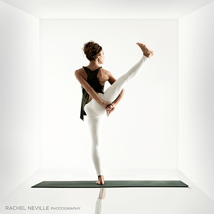 black white dancer 3d box rachel neville photography