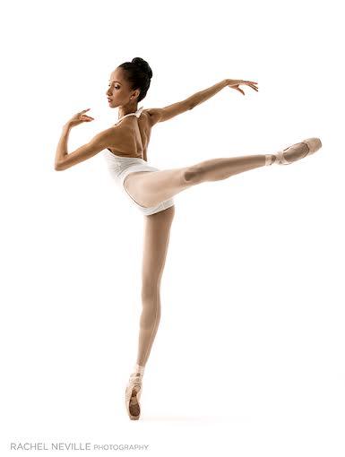 precision dance white leotard Allison
