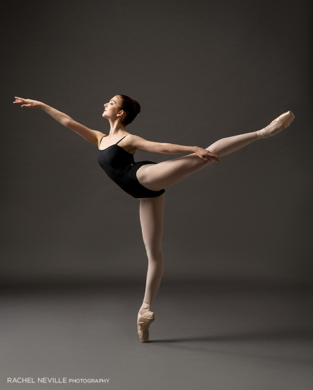 arabesque image Ainsley Sorenson. photographer Rachel Neville