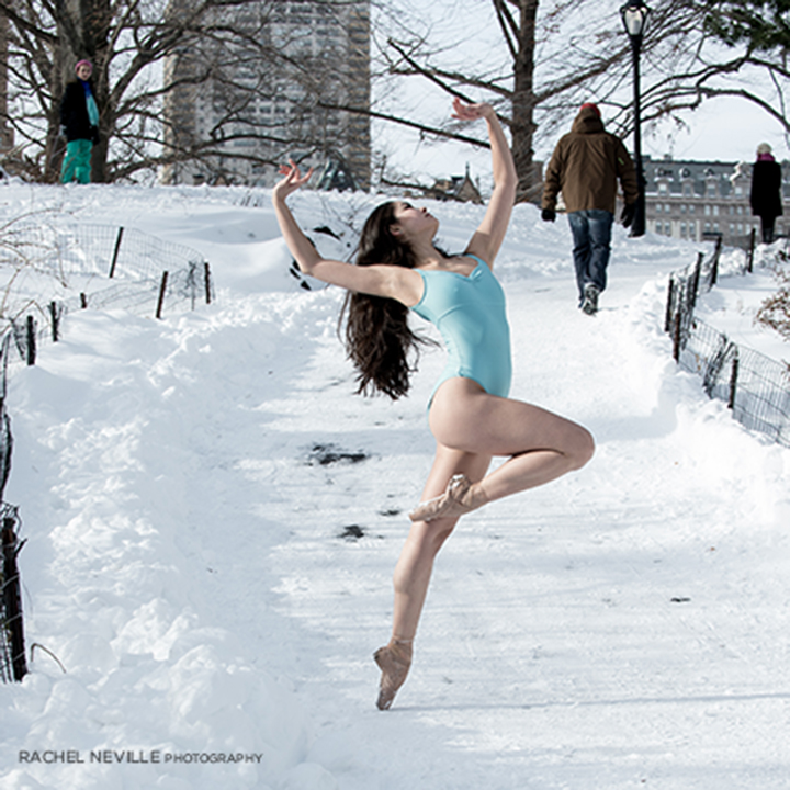 central park path ice blue leotard
