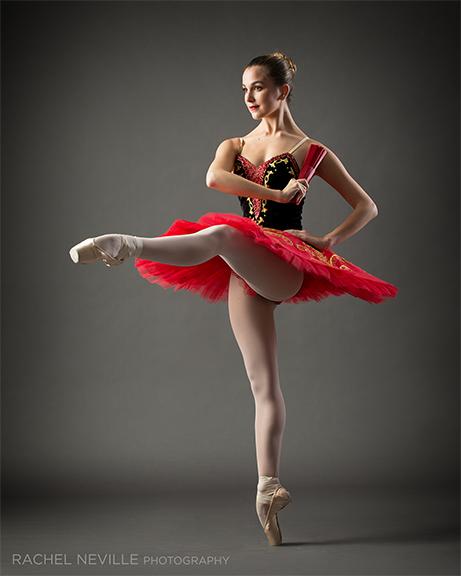 classical ballet red tutu