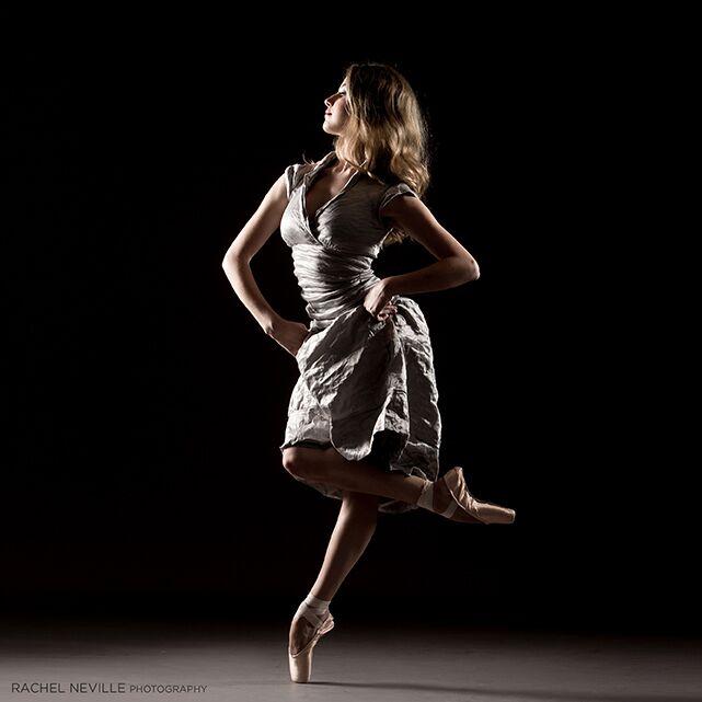 crinkle dress taupe