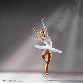 dancer white sheer double effect light stream photography rachel neville