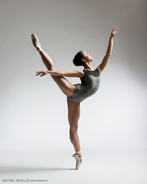 modern leotard for audition silver gray