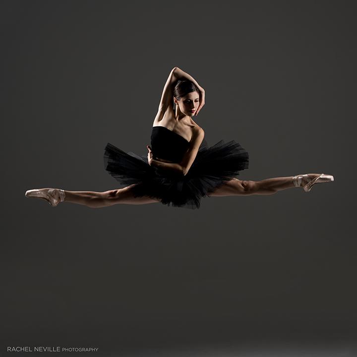 black tutu bandeau top rachel neville dance photographer