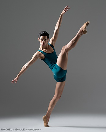 green one piece dance wear men photo Rachel Neville