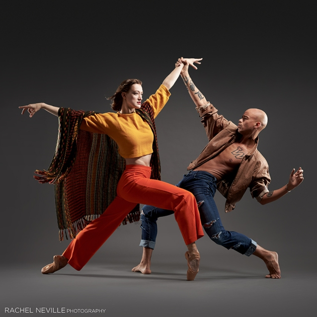 dance company marketing images Rachel Neville