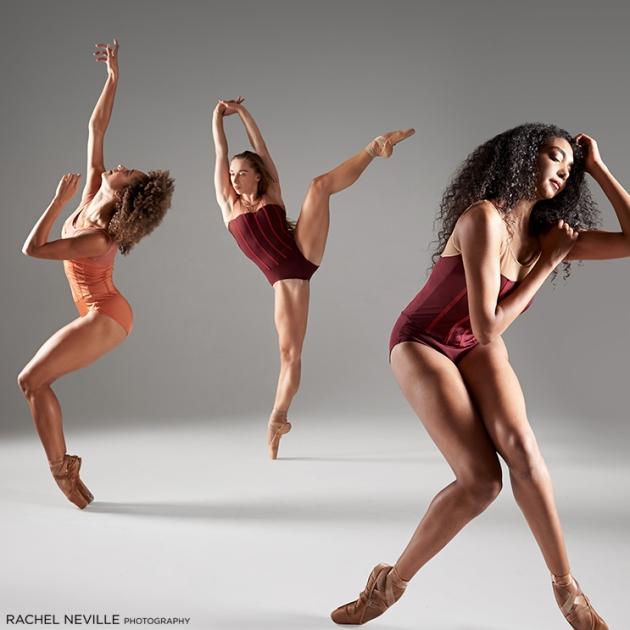 NYC Dance Photographer Rachel Neville Complexions Ballet three dancers
