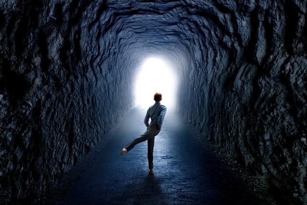 Rachel Neville Photographer dancer tunnel